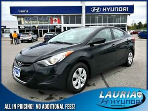 2011 Hyundai Elantra L Manual - New brakes / New tires