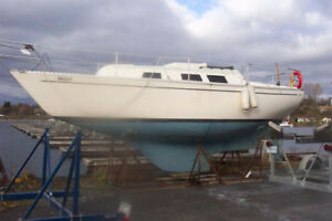 NEW PRICE - WANT IT GONE- 27' 1977 Columbia Sailboat