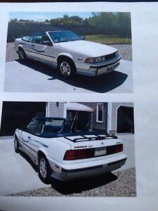 1989 Chevrolet Cavalier Z24 Convertible