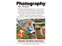 Your Art Professionally photographed