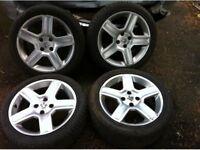 Peugeot 17 inch challengers vortex alloy wheels