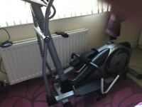 Roger black cross trainer good condition just need the space