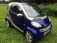 Smart city coupe car passion LOW MILES smartfortwo