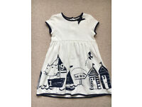 Next girls dress size 3-4 years old
