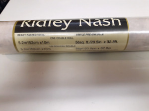 """5x 20.5"""" Wide Rolls Ridley Nash Pink Marble Wallpaper $200 OBO"""