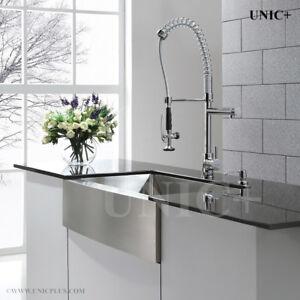 30 inch Farmhouse/Apron Stainless Steel Single Bowl Kitchen Sink