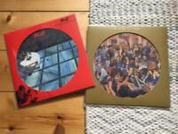 Two punk reissue picture discs Skids The Ruts