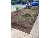 Free Top soil to be collected but needed to be dug yourself . Must leave garden tidy