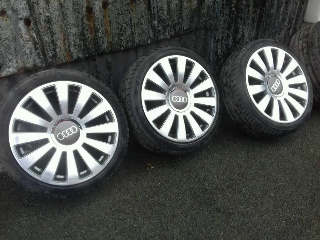 Audi 18 inch alloy wheels 5 x112 5x100