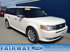 2011 Ford Flex Limited 4D Utility AWD Leather*Moonroof*BIG Price