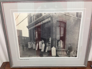Historic (local) framed photo  - Excellent condition