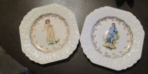 Vintage Lord Neslon Pottery collector plates