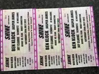 Shine tickets for Ben klock
