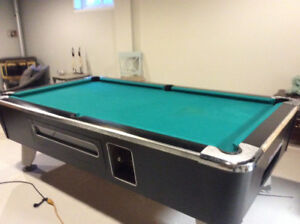 4th generation coin  pool table