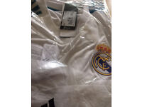 Real Madrid 2017 Football Shirt. Brand New and still in original wrapping.