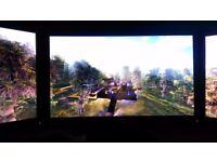 "3 X Prodisplay p221 monitors 21"""