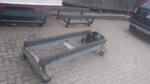 Heavy Duty PWC rolling cradle stand
