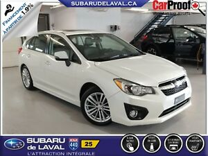 2014 Subaru Impreza 2.0i Limited Awd Hatchback *Cuir et Navigati