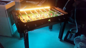 Table de baby-foot LED