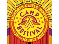 Camp Bestival Tickets for Saturday 29th July - 2 adults, 1 child, 1 baby