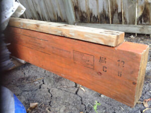 Laminated veneer lumber beam. 4x10x16ft long