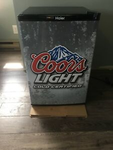 Coors Light mini fridge