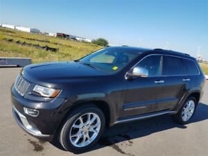 2014 Jeep Grand Cherokee SUMMIT|GOLD+POWERTRAIN EXT WARR|5.7L V8
