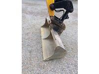 JCB Digger bucket - 5 foot ditching/grading