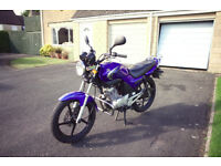 Yamaha YBR 125 • Low mileage • Full Yamaha service history • New MOT • 1 previous owner