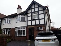 Beautiful semi detached 5 bedroom house with newly refurbished Kitchen and Bathroom
