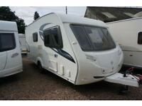 2010 STERLING ECCLES TOPAZ 2 BERTH CARAVAN - END WASHROOM - STUNNING!