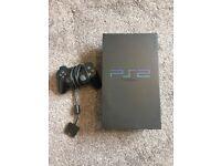 Playstation 2 + 1 controller, 3 games and gun