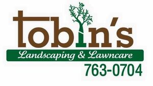 Tobin's Landscaping! Residential and commercial experts.