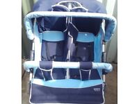Double pushchair 40pounds