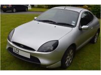Ford Puma silver bonnet and tailgate and rear lamp unit for sale