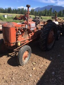 Case D tractor