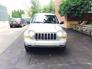 2007 Jeep Liberty TRAIL RATED 4X4 137000km fully Loaded 3899$