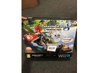 Nintendo Wii U and Mario Kart 8 Premium Pack