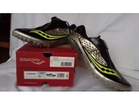 Men's Saucony 'Showdown' Sprint Running Spikes size 9.5 barely used