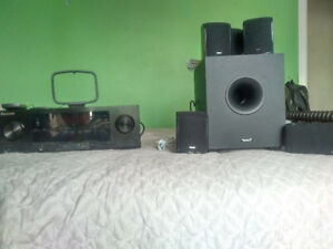 Pioneer Receiver and Tannoy Speakers