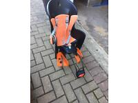 Rear child's seat for bike