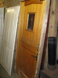 Wooden Stable Door For Sale, Second Hand But Good Condition. (900x2100mm) Good Solid Door