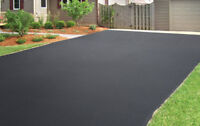 Acrylic driveway sealing.  Grass cutting . Yard cleanup.