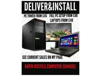 Laptop pc DESKTOP COMPUTER. Can deliver local