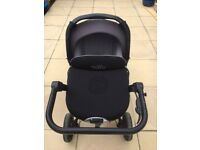 Jane Rider Pram Travel System (Chassis, Chair, Car Seat, Transporter + more!)