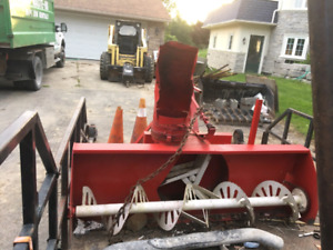 6ft snow blower and pto attachment  $600