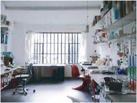 Large desk available in Friendly Studio - Stoke Newington / Dalston / Hackney