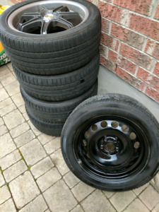 "17"" Rims and Mark 4 VW Jetta accessories"