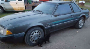1990 Ford Mustang Lx 25th anniversary edition
