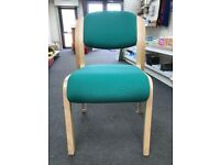 Reception/Visitor Chair, 5 In Stock. (BRAND NEW - Cancelled Order)